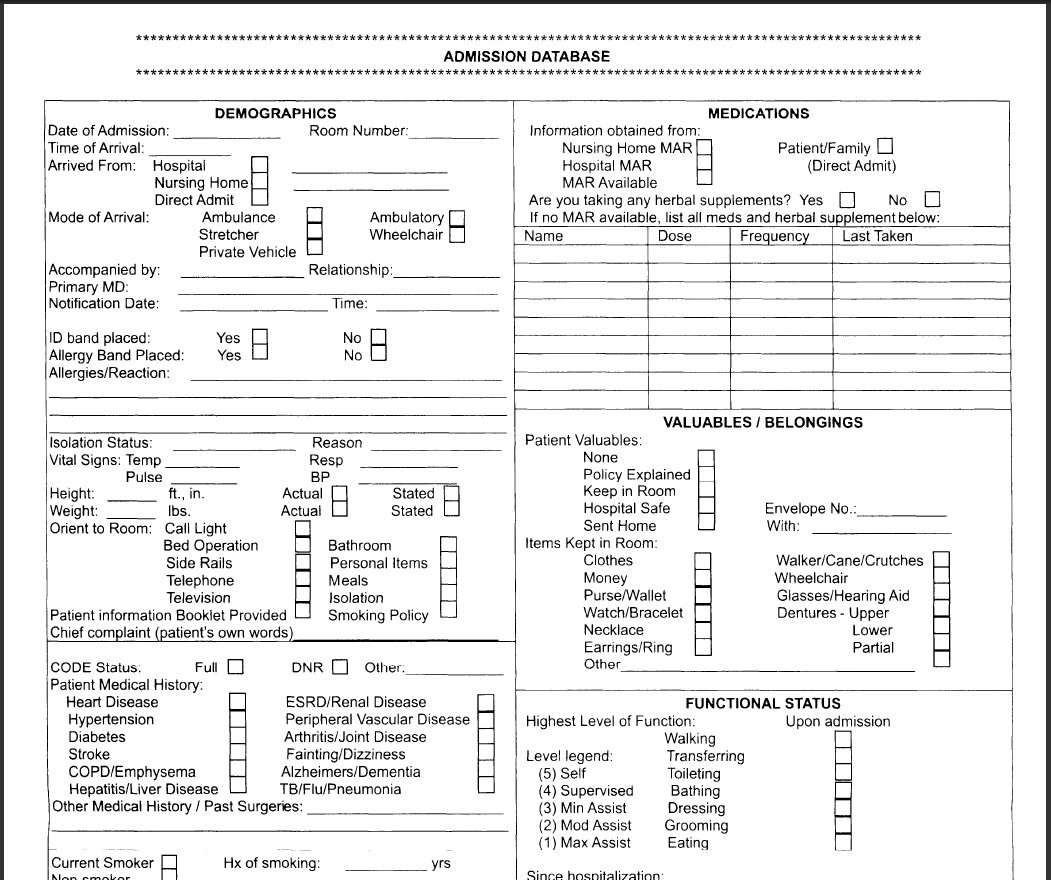 Nutrition Assessment Form Alum Northeastfitness Co